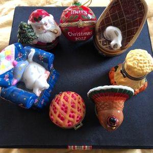 Unique Ceramic Trinket Boxes